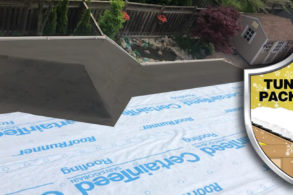 Tundra package: 6' Ice & Water Shield with Water-Resistant Underlayment
